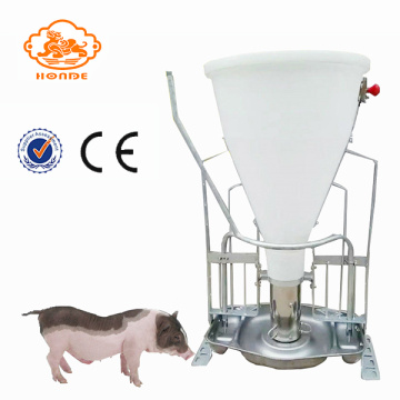 Hot Galvanized Automatic Pig Wet Dry Feed Melalui palung