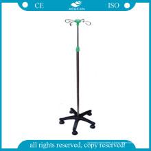 AG-Ivp003 Medical IV Pole avec 4 Castor