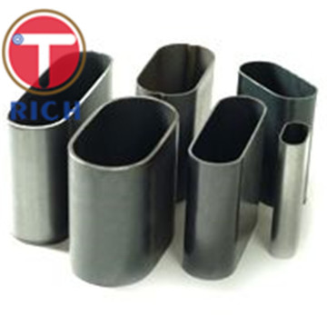 Stainless Oval Shaped Welded Thin Wall Steel Pipe