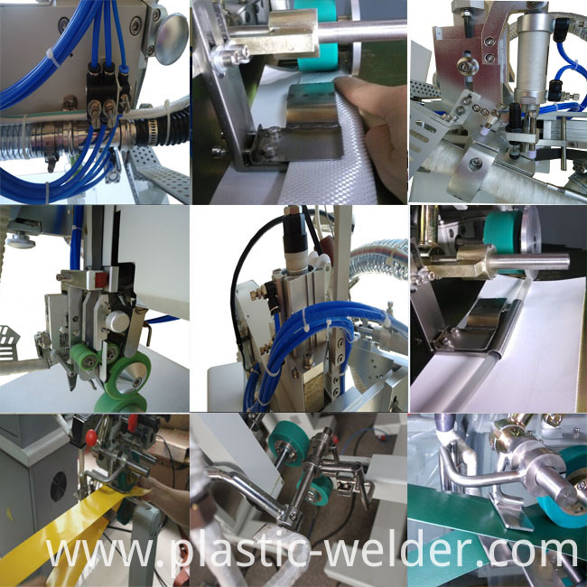 Hot air welding machine