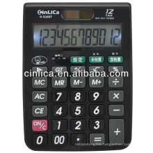 12 digits big size LED backlight desktop tax calculator desktop calculator R-5200T