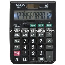 12 цифр большой размер светодиодная подсветка настольный калькулятор налогов настольный калькулятор R-5200T