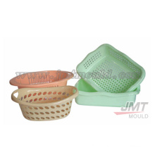plastic injection basket plastic mould