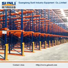 High Density Pallet Style Storage Forklift Drive-in Rack System