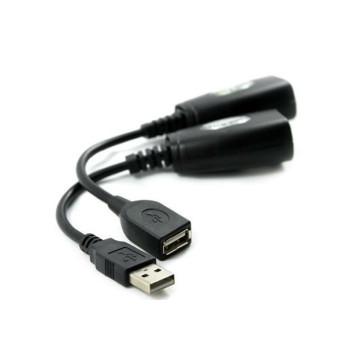 50m sobre Cat5 USB Extender