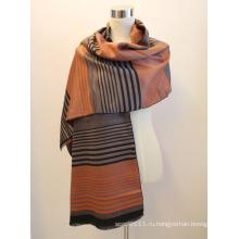 Леди мода вискоза Жаккардовые бахромой платок (YKY4416-1)