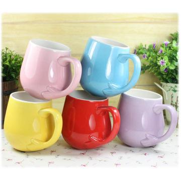 Großhandelsfördernde kundenspezifische Form-Eiscreme-Tasse