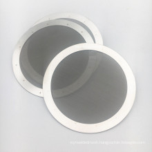 Reusable Fine 60 Micron Stainless Steel Coffee Filter Mesh Disc