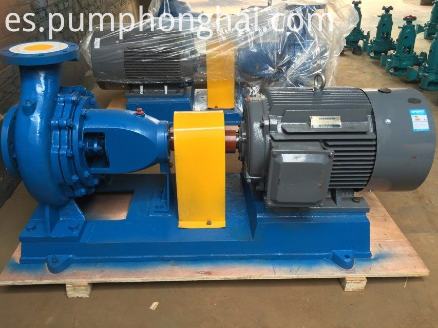 horizontal water pump