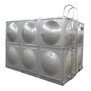 Silver 304 Stainless Steel Food Grade Water Tank Factory Price