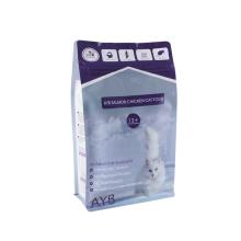 Easy-tear Zipper Pet Food Packaging Bag