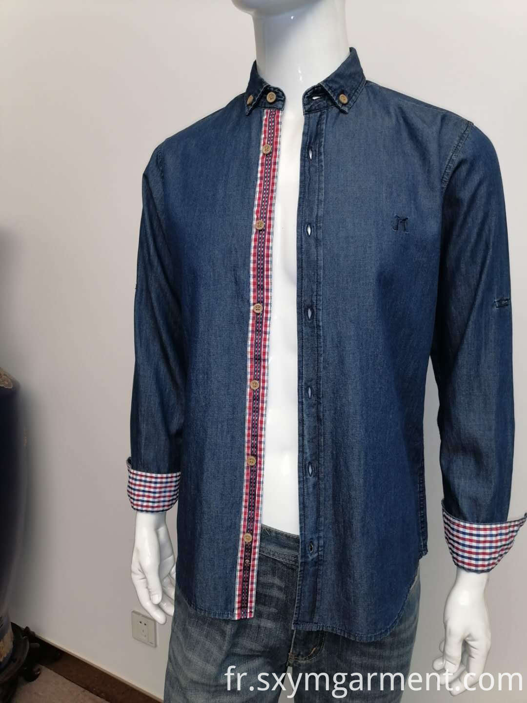 Mens denin shirt