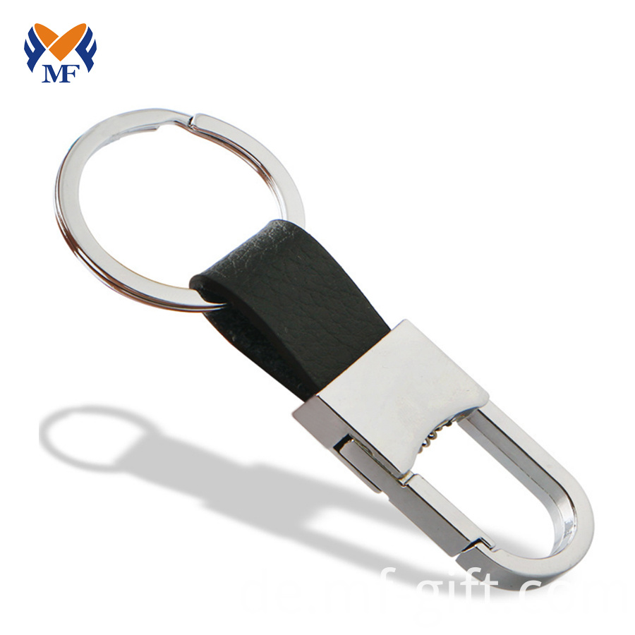 Leather Keychain For Car