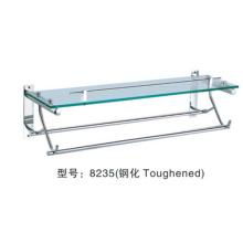 étagère de serviette suspendue en métal de salle de bains faite en Chine: 8235