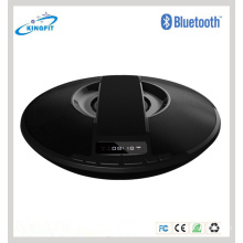 Forma de LED Handsfree Display Speaker Speaker Dish Mini Speaker