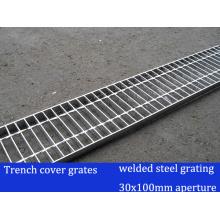 Сварная стальная решетка для решетки траншеи