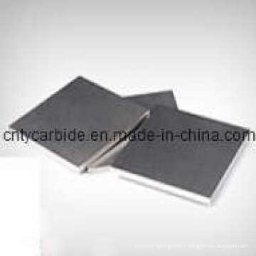 Yg6 Carbure de tungstène Plaques et rayures en différentes tailles pour la coupe