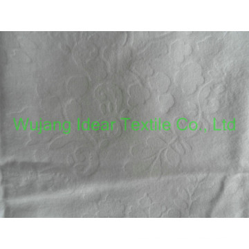 cotton emboss flannel fabric