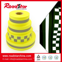 High light safety caution reflector webbing