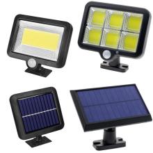 Lampe solaire extérieure lampe solaire PIR capteur de mouvement projecteur à énergie solaire lumière du soleil réverbère 4M fil étanche