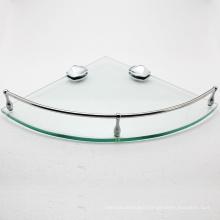 Bathroom Design Wall mounted Stainless steel Bathroom glass corner shelf