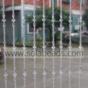 Winter 18MM&14MM&6MM Wire Crystal Beading Garland String