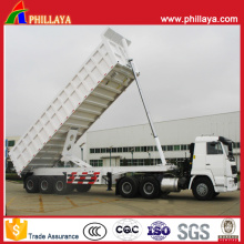 Rear Tipper Semi Trailer with Volume Opptional