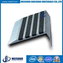 Warehouses Aluminum Base Tile Stair Parts Anti Slip Stair Nosings