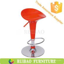 Banqueta de bar de plástico de alta qualidade Red ABS BarStool