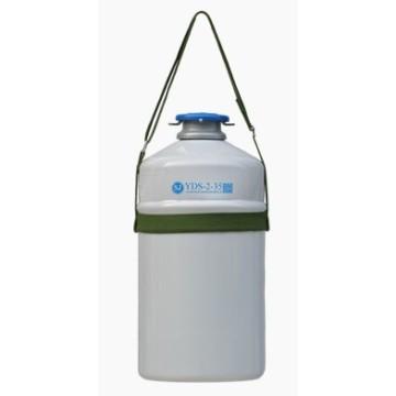 Portable Dewar Aluminum Alloy Biological Liquid Itrogen Container