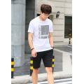 Fashion summer short sleeve cotton imprint men clothes customized logo available T-shirt