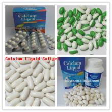 OEM Calcium Liquid Softgel Calcium