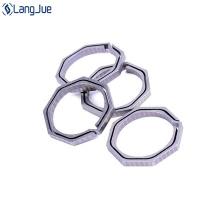 Titanium alloy carabiner part
