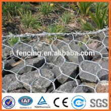 preços da cesta do gabion / parede de retenção da cesta do gabion / gabion stone box