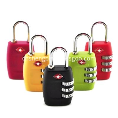 Travel Luggage Lock Tsa Cable Lock Tsa Combination