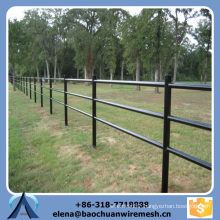 Customized High Quality and Strength Square/Round/Oval Tubes Style Livestock Fence