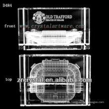 Imagen subsuperficial de láser K9 Dentro de bloque de cristal