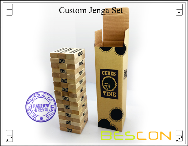 Custom Jenga Set