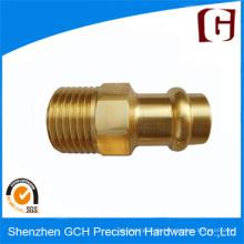 Kundenspezifische Design-Qualität CNC-bearbeitete Kupferbolzen