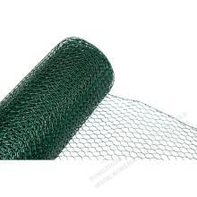 Шестиугольная сетка с пластиковым покрытием