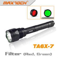 Maxtoch-TA6X-7 Rechargable LED Schaltung Cree LED-Taschenlampe