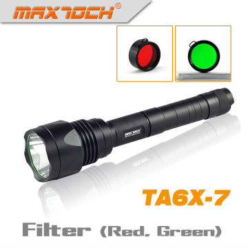 Maxtoch TA6X-7 Rechargable LED Torch Circuit Cree LED Flashlight
