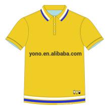 2017 nouveau design logo personnalisable polo pour hommes uni