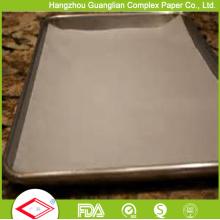 Hojas de la hornada del papel de pergamino del silicón de los 60X40cm para cocer al horno