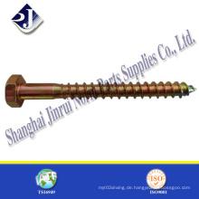 China Gute Qualität Hex Lag Holzschraube