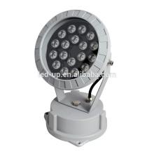 18W DMX512 RGB luz de inundação CE TUV