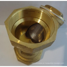 Bronze tipo Y filtro de água de malha