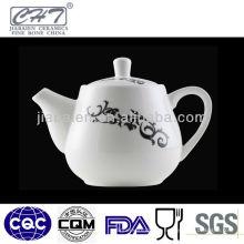 A003 Porcelana antiga flor potável água pote