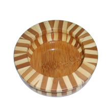 Vente chaude Cercueil en bois circulaire de haute qualité