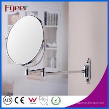 Fyeer lado duplo ampliação de parede espelho de maquiagem dobrável
